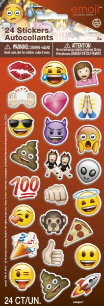 Emoji Puffy Sticker Sheet